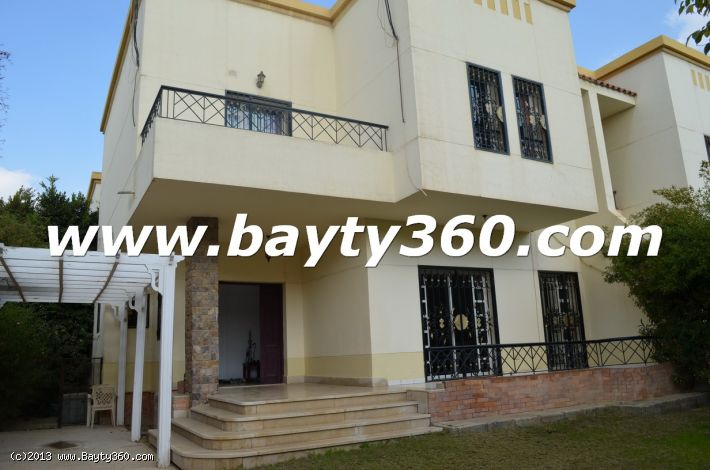 Furnished Villa For Rent in Al Rehab, New Cairo