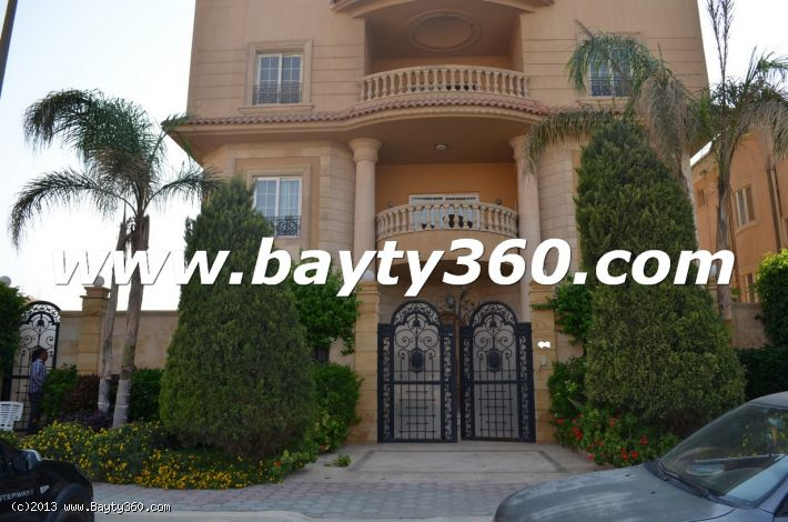 Furnished villa for rent ,5th settlement,New Cairo